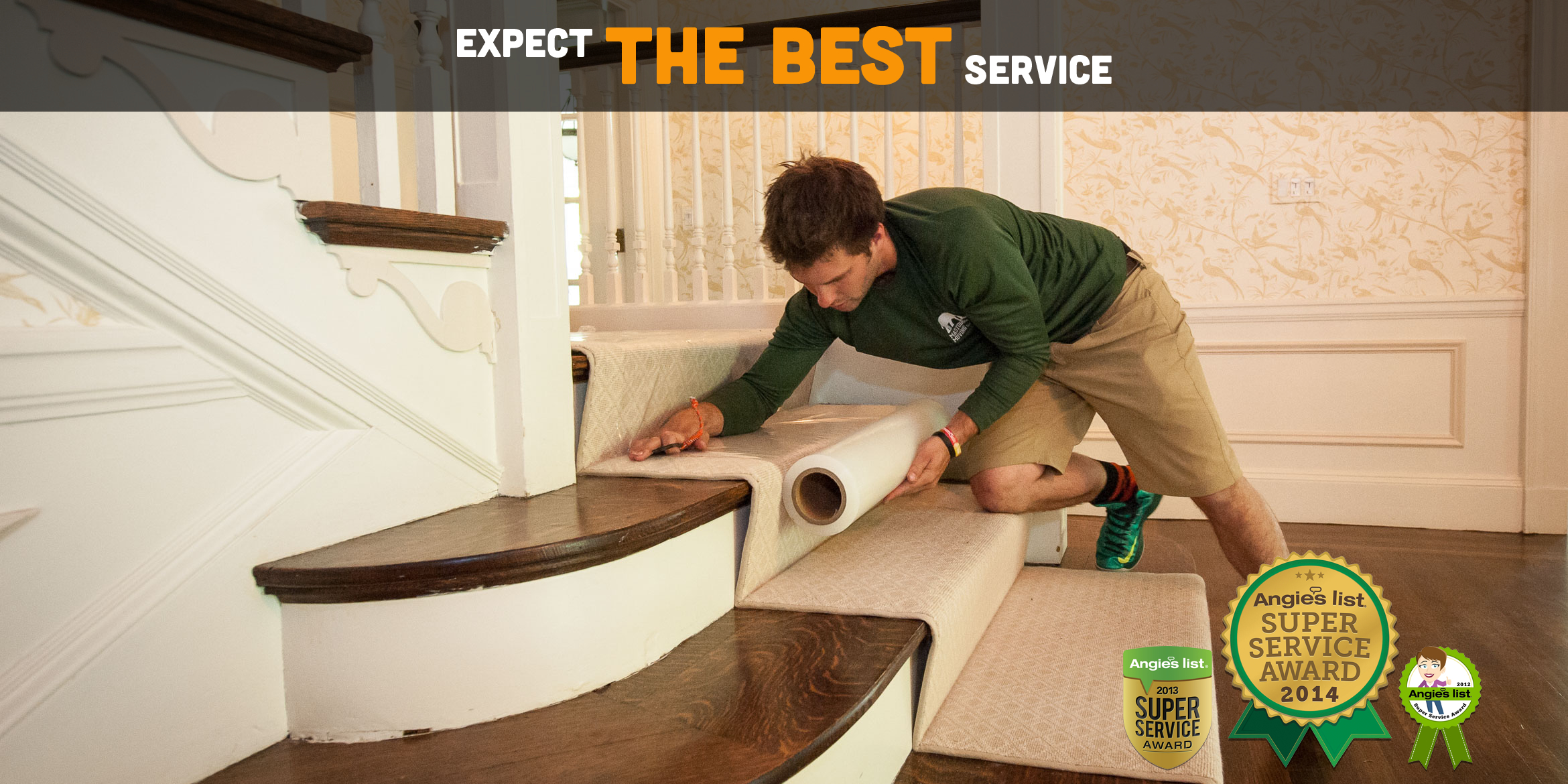 Expect The Best Service