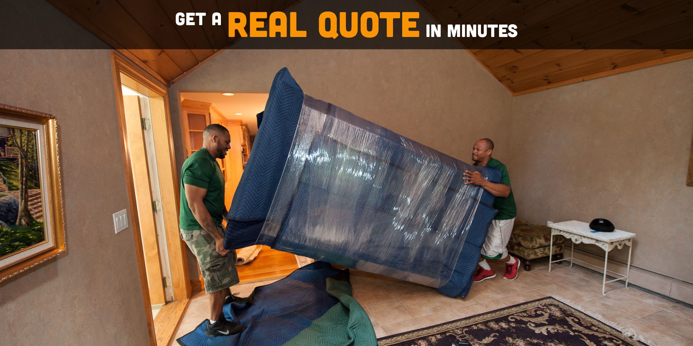 Get a Real Quote in Minutes